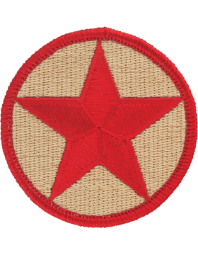 Opfor Patch Khaki with Red Star