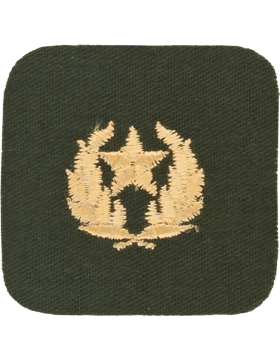 Opfor Hamby First Class Green with Gold Design and Star