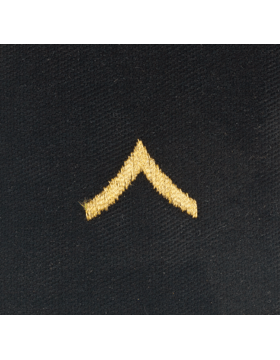 Opfor Private Sew-on Rank Gold Metalllic on Black