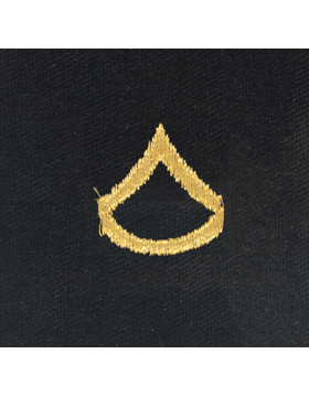 Opfor Private First Class Sew-on Rank Gold Metallic on Black