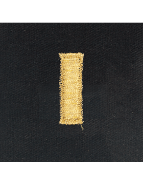 Opfor Second Lieutenant Sew-on Rank Gold Metallic on Black