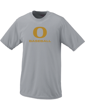 Oxford Baseball Under Gold O Wicking T-Shirt
