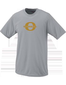 Oxford Baseball Through Gold O Wicking T-Shirt