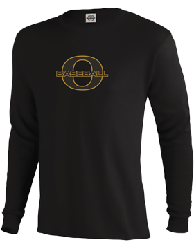 Oxford Baseball Through O Long Sleeve T-Shirt