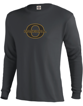 Oxford Baseball Through O Performance Long Sleeve T-Shirt