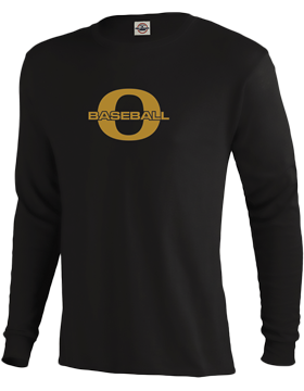 Oxford Baseball Through Gold O Long Sleeve T-Shirt