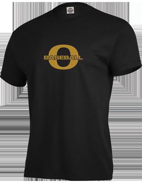 Oxford Baseball Through Gold O Short Sleeve T-Shirt