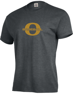 Oxford Baseball Through Gold O Performance Short Sleeve T-Shirt