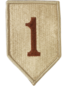 1st Infantry Division Desert Patch