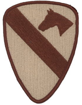 0001 Cavalry Division Desert Patch