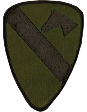 1st Cavalry Division Subdued Patch