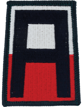 0001 Army Patch Full Color with Fastener