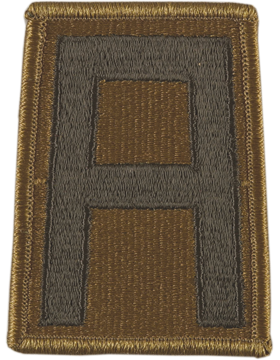 1st Army Subdued Patch