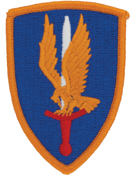 0001 Aviation Brigade Patch Full Color with Fastener