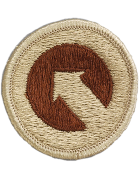 0001 Sustainment Command Desert Patch