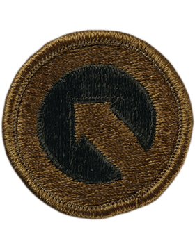 1st Sustainment Command Subdued Patch