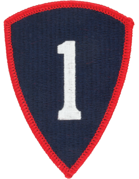 0001 Personnel Command Patch Full Color with Fastener