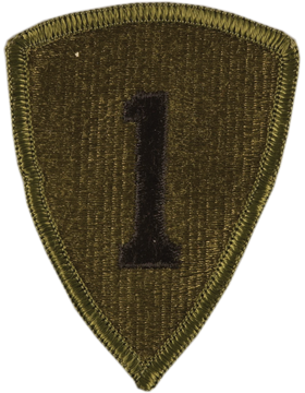 1st Personnel Command Subdued Patch