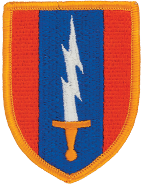 0001 Signal Brigade Patch Full Color with Fastener