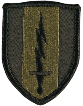 1st Signal Brigade Subdued Patch