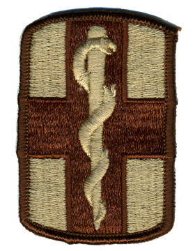 0001 Medical Brigade Desert Patch