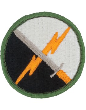 0001 Information Operations Command Patch Full Color with Fastener