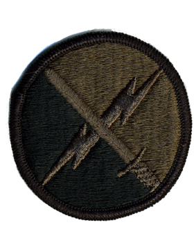 0001 U.S. Army Information Operations Command Subdued Patch