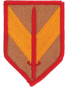 0001 Sustainment Brigade Patch Full Color  with Fastener