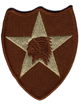 2nd Infantry Division Desert Patch