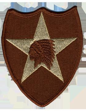 0002 Infantry Division Desert Patch (P-0002A-D)