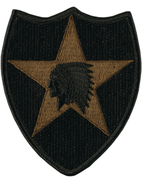 0002 Infantry Division Subdued Patch (P-0002A-S)