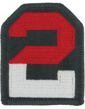 0002 Army Patch Full Color with Fastener