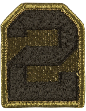 2nd Army Subdued Patch