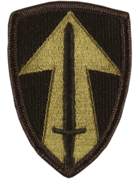 2nd Field Force Subdued Patch