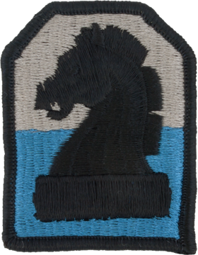 0002 Military Intelligence Command Patch Full Color with Fastener