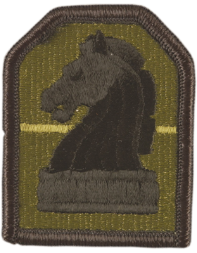 0002 Military Intelligence Command Subdued Patch