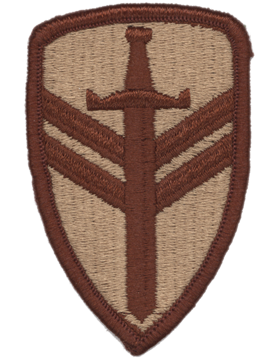 0002 Support Brigade Desert Patch