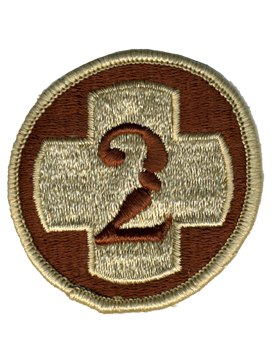 0002 Medical Brigade Desert Patch