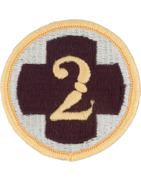 0002 Medical Brigade Patch Full Color with Fastener