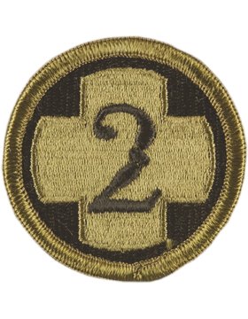2nd Medical Brigade Subdued Patch