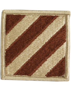 0003 Infantry Division Desert Patch