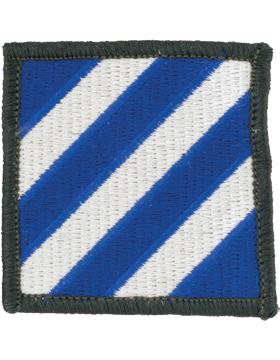 0003 Infantry Division Patch Full Color with Fastener
