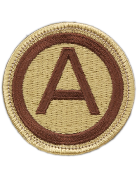 0003 Army Desert Patch