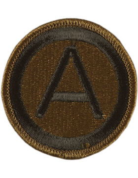 3rd Army Subdued Patch