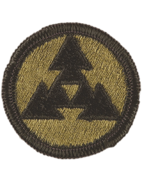 0003 Corps Support Command Subdued Patch