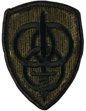 3rd Personnel Command Subdued Patch