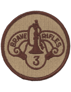 0003 Cavalry Regiment Desert Patch