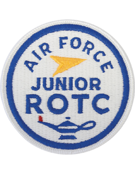 Air Force Junior ROTC Round Full Color Patch