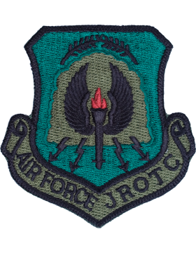 Air Force Junior ROTC Shield Subdued Patch