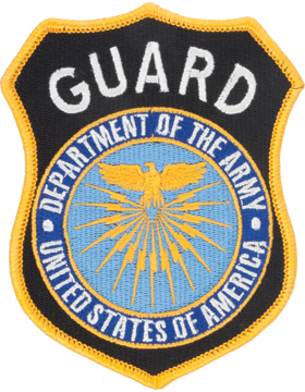 Department Of Army Guard Full Color Shoulder Patch (P-DOA GUARD/1)